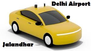Delhi airport to jalandhar taxi
